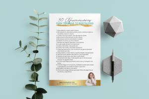 30 afirmaciones para transformar tu energía